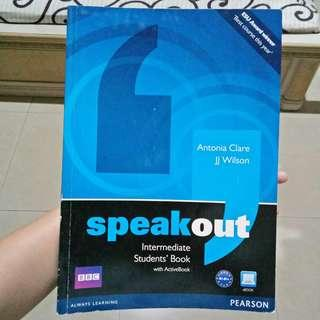 PEARSON Speakout Intermediate Students' Book First Edition (Antonia Clare, JJ Wilson) with BBC DVD Murah