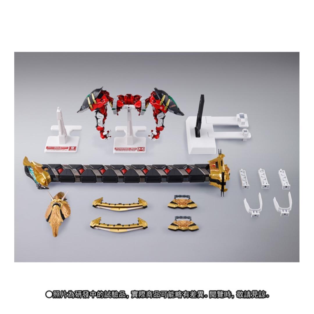全新未開封 Metal Build Gundam Astray Red Frame Kai 紅 迷惘 異端 改 高達 Seed Destiny 機動戰士 特種命運 超合金 連大手 飛行配件 不散賣