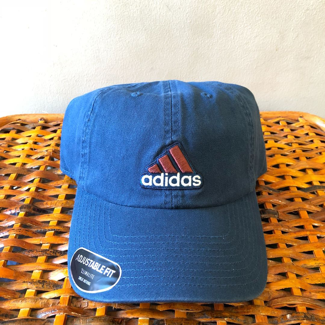 Adidas Climalite Cap (Navy Jeans Faded Red Color) (Unisex) 7ebdf8543f8