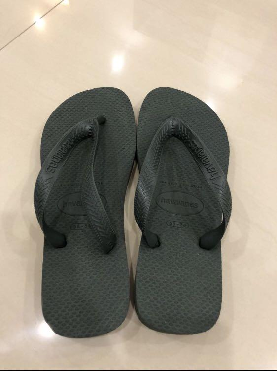 Authentic Havaianas - Green Olive