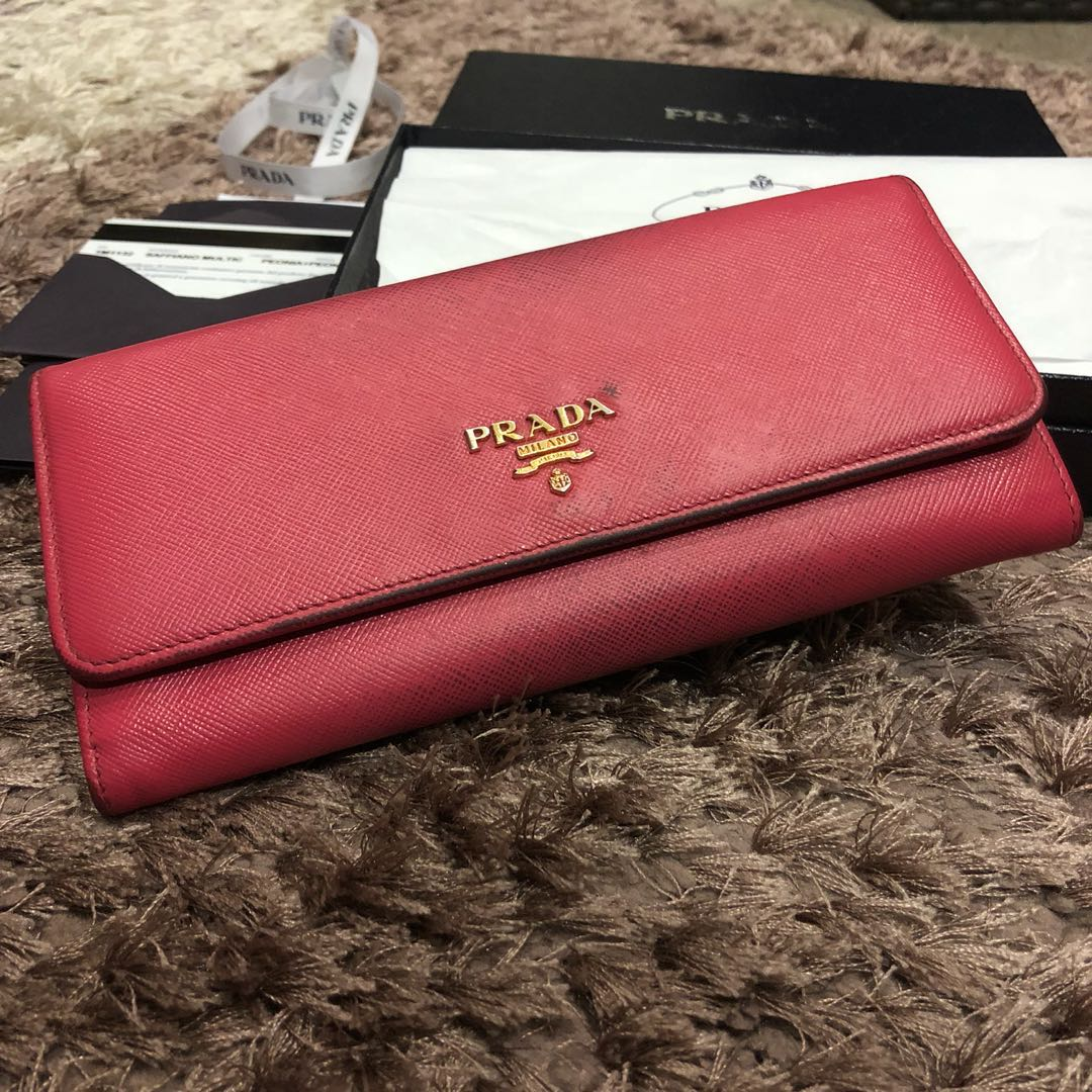 e779d4015327 Authentic Prada Saffiano Long Multicolour Wallet *BEST PRICE*, Women's  Fashion, Bags & Wallets, Wallets on Carousell