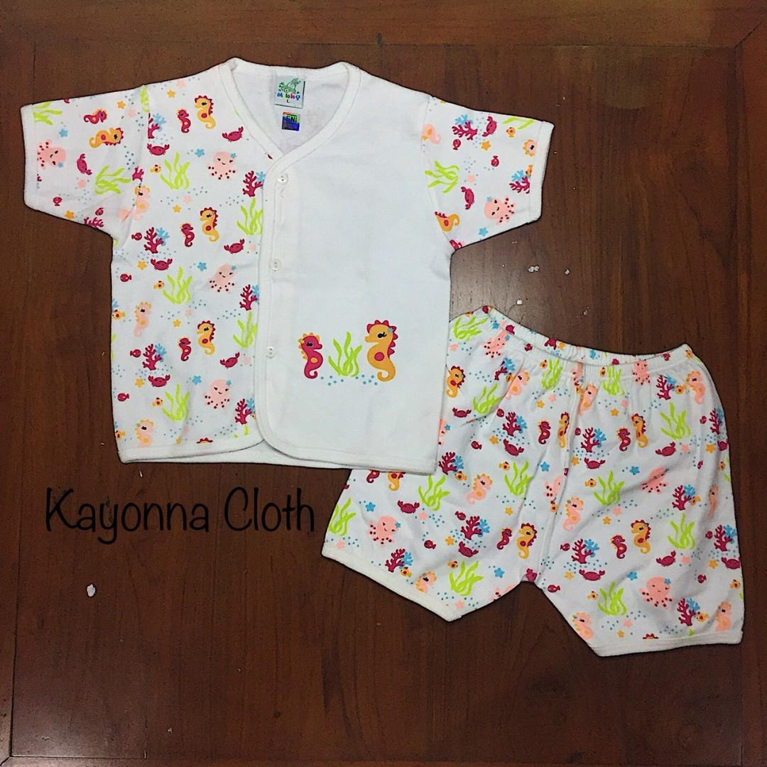 Baju tidur piyama anak bayi setelan anak bayi animal 003, Babies & Kids, Babies Apparel on Carousell