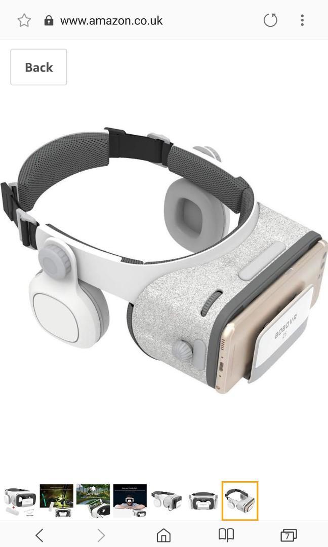 BOBOVR Z5 Gyroscope Virtual Game Headset Upgraded with