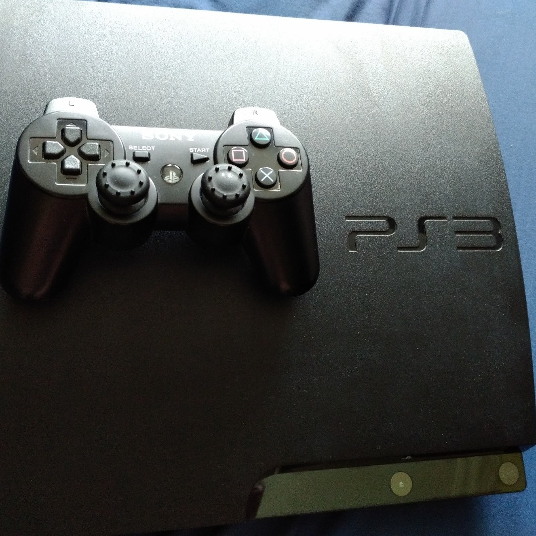 CFW PS3 slim set rare find