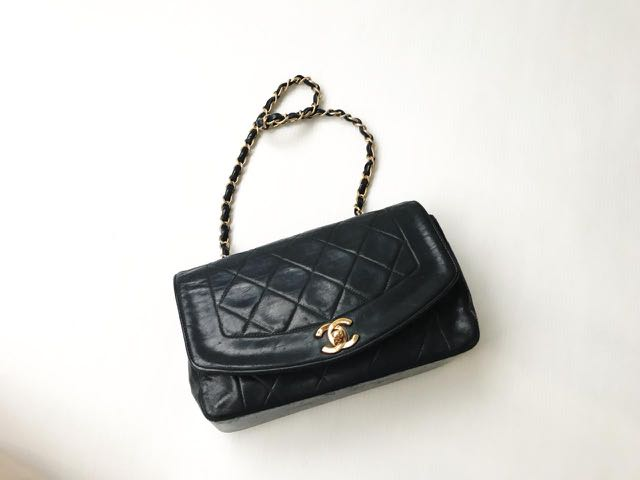 0e8d10b824379d Chanel Bag small diana No HOLO bag only, Luxury, Bags & Wallets ...