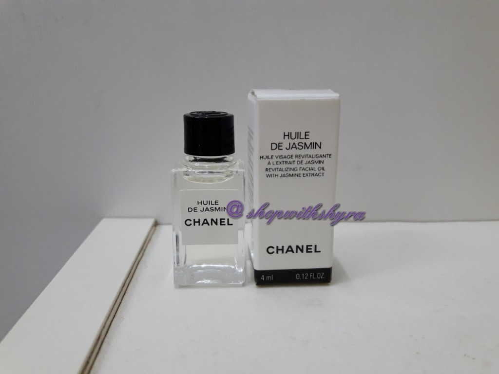 917268b369 Chanel Huile De Jasmin (Revitalizing Facial Oil with Jasmine Extract). 4ml  (travel size).