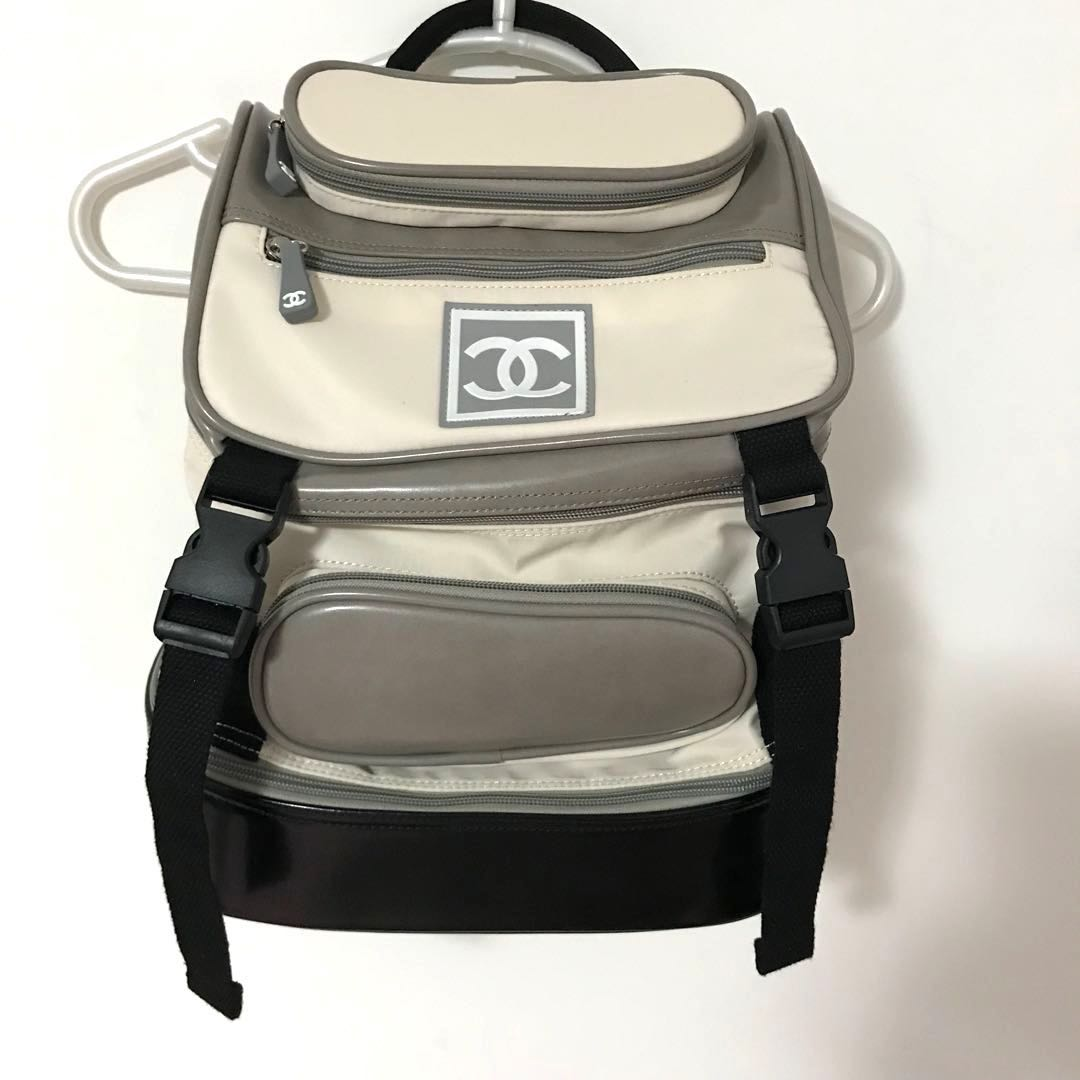 35a9cca03 Chanel Sportline Vintage backpack, Luxury, Bags & Wallets on Carousell