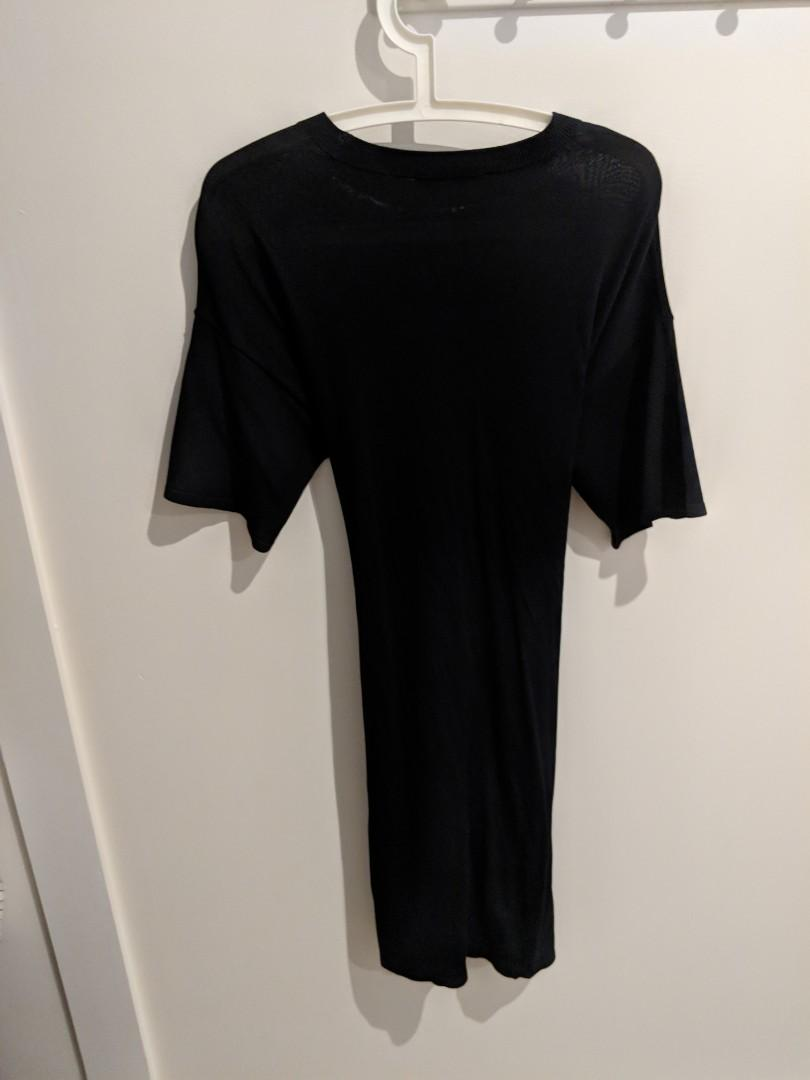 Country Road Black Work Dress (Size 10)