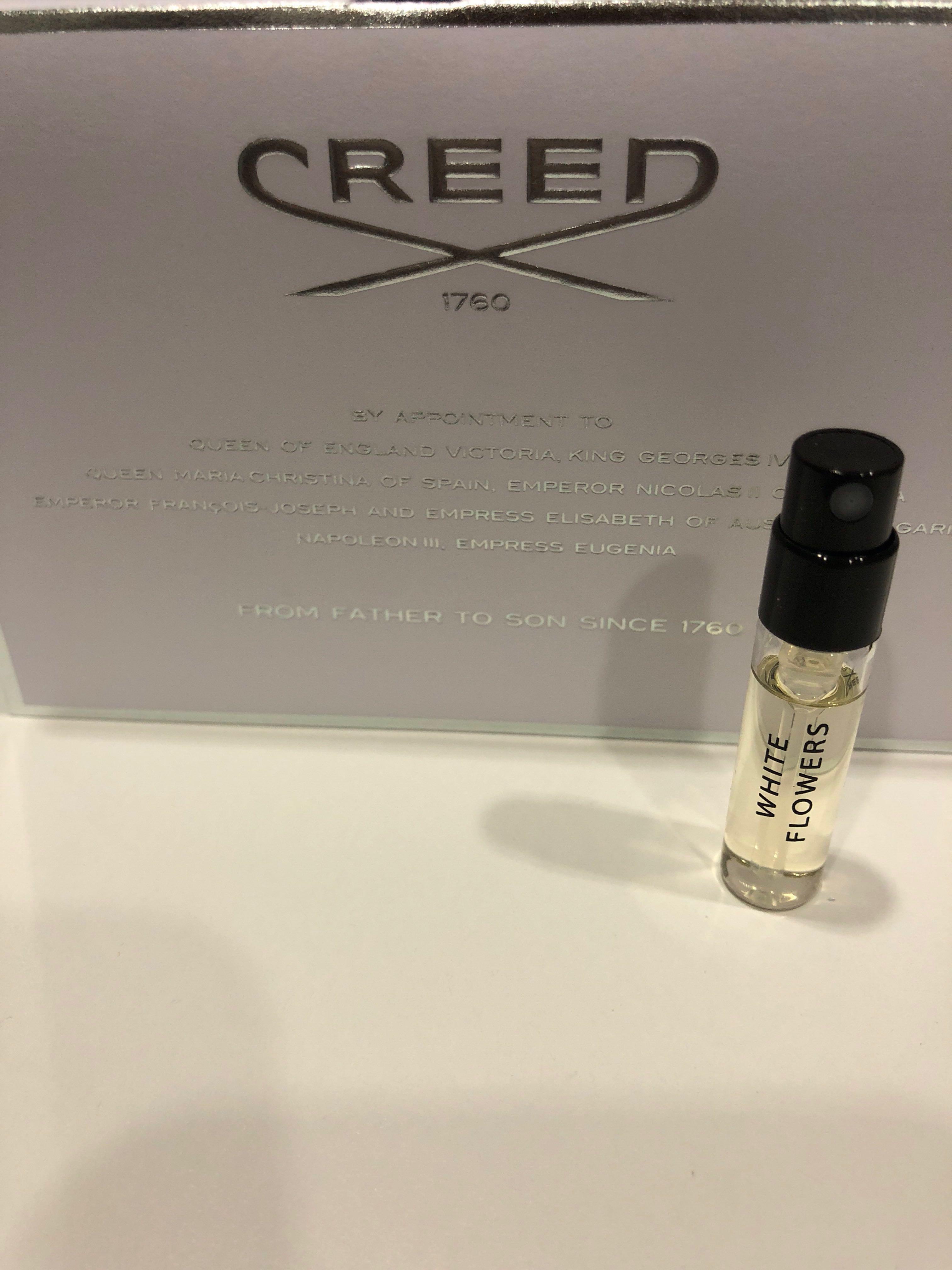 Creed 1760 Echantillon Perfume White Flowers Health Beauty