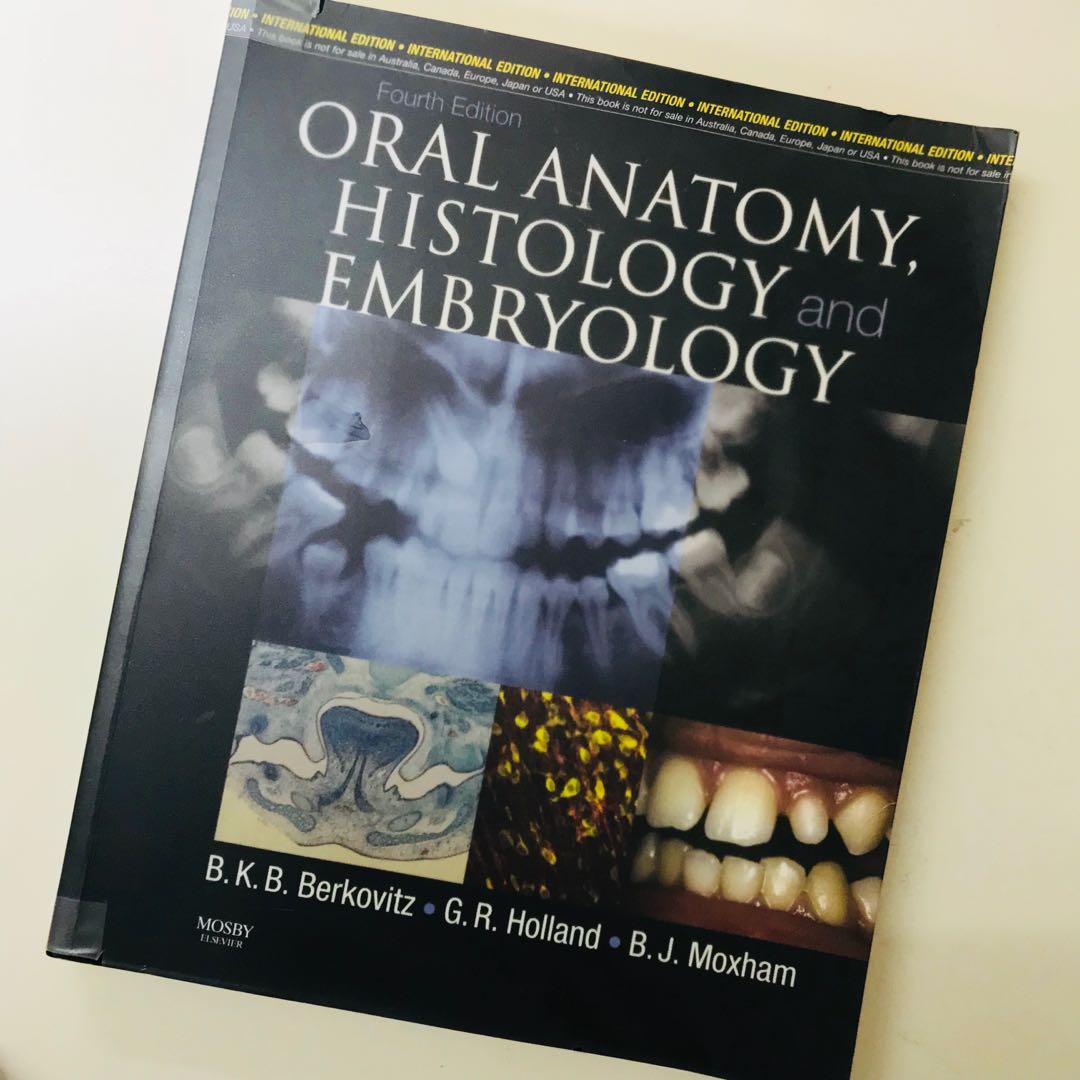Dentistry Textbook Oral Anatomyhistologyembryology Textbooks On