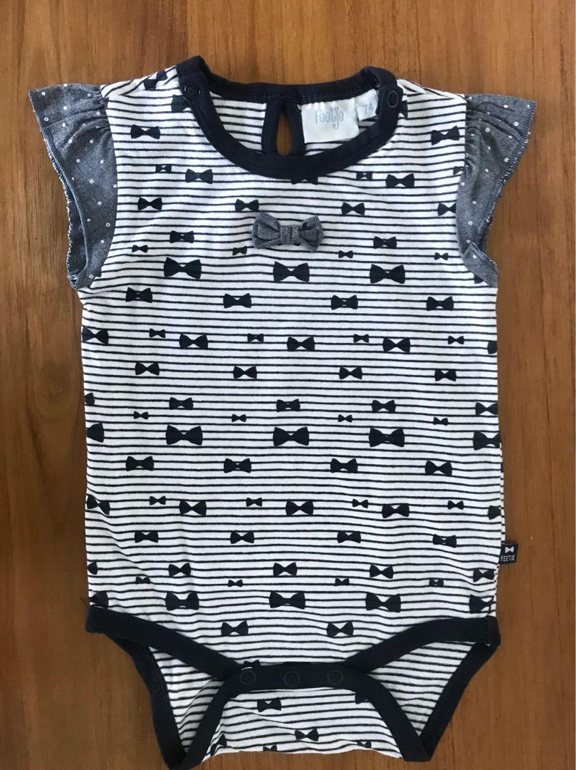 0332b76d3 Feetje Bodysuit, Onesie, Romper, short-sleeved, baby girl, size 74 ...