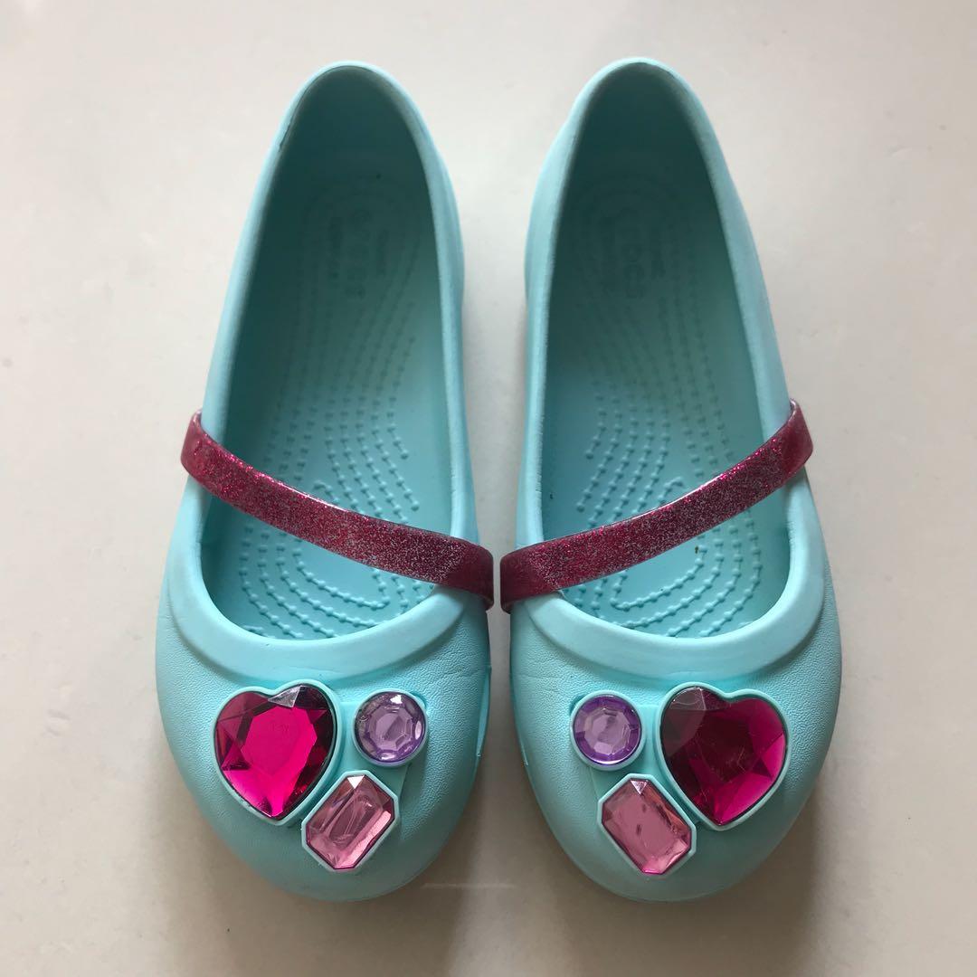 3c845d1a4653 Girls Bling Crocs Shoes - Size C13