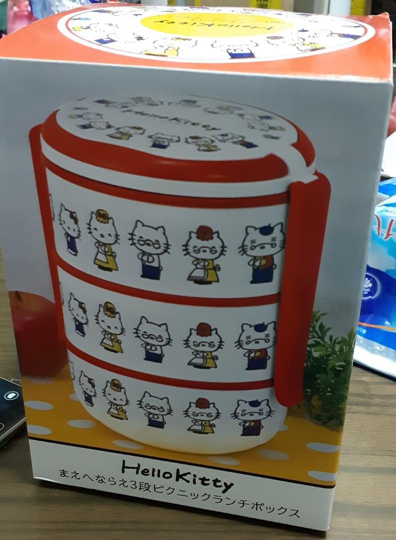 Hello Kitty 三層午餐盒 Learning forward 3-tiers Picnic Lunch Box