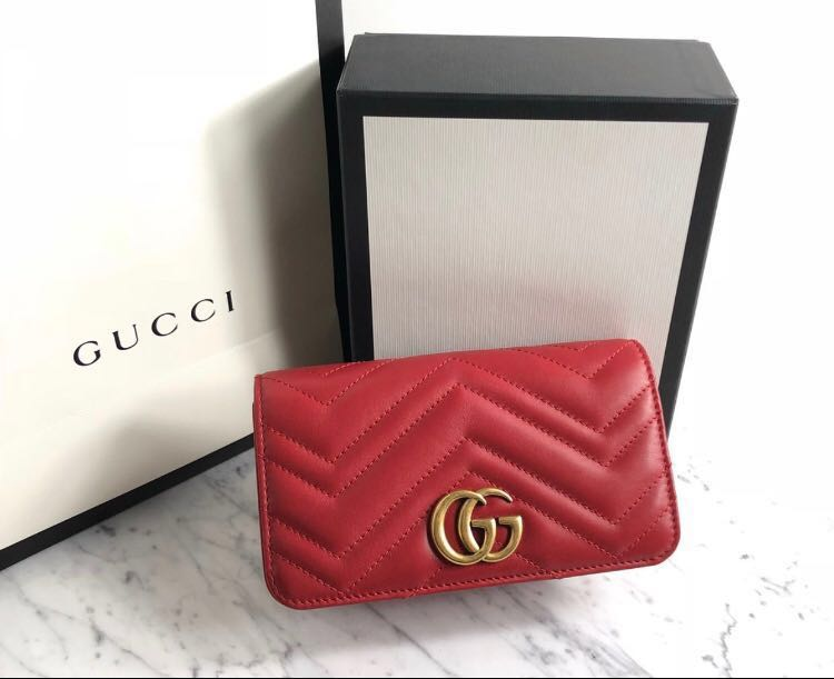 53b565550714 🔥HOT SELLER🔥💯Authentic GUCCI MINI MARMONT METALASSE BAG🛍, Fesyen ...