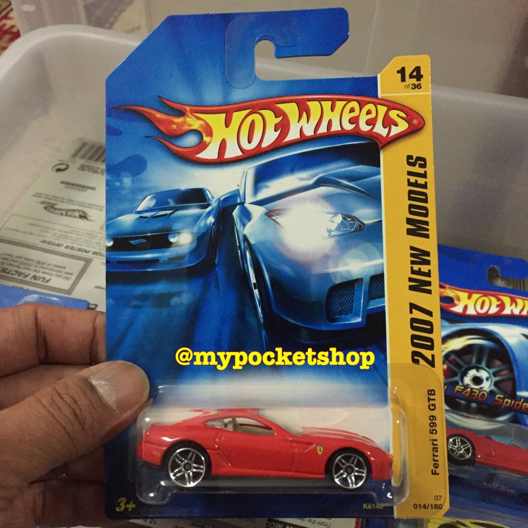 Hot Wheels Ferrari 599 Gtb Red Toys Games Others On Carousell