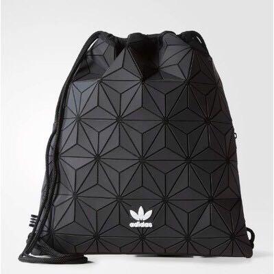Instock Adidas X Issey Miyake Drawstring Bag Men S Fashion Bags