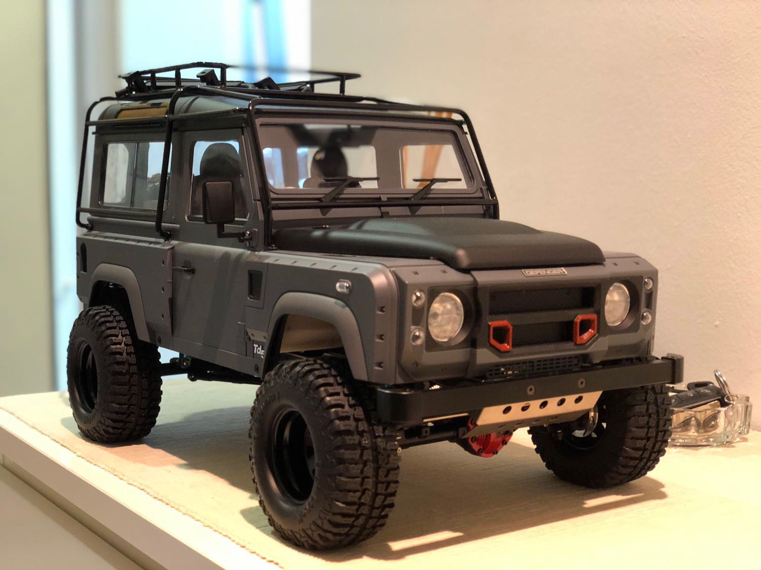 land rover defender d90 kahn design rc car rc crawler. Black Bedroom Furniture Sets. Home Design Ideas