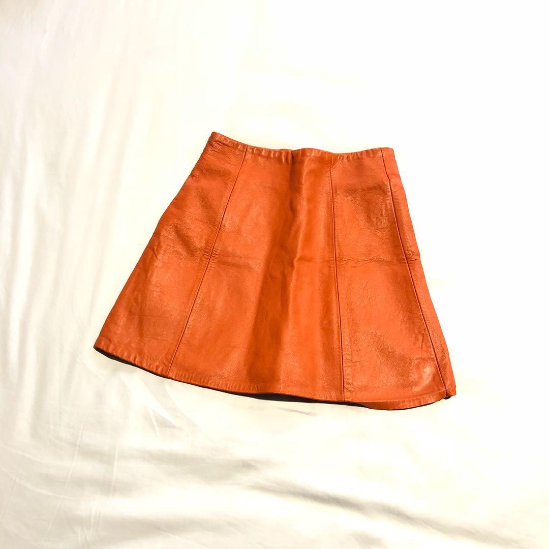 Women's Clothing Euc Bcbgeneration Skirt Mini Size 6 Small Medium White Orange Blue