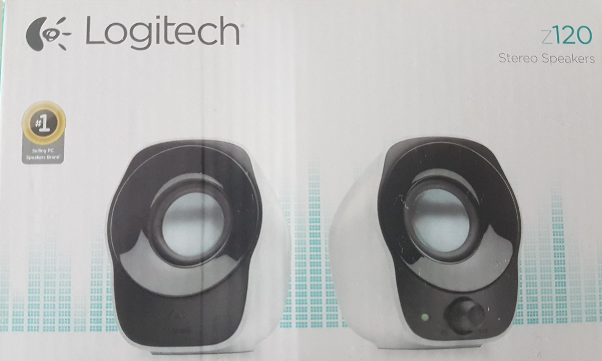 cb5127c9463 Logitech z120 Stereo Speakers, Electronics, Computer Parts ...