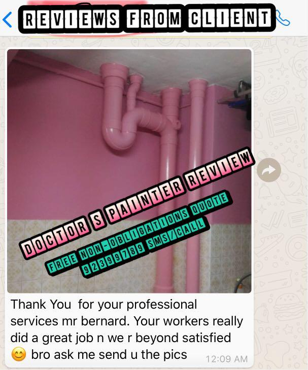 Lowest Price in Town ! Professional Painting Services ! 专业油漆! free  sealer / free momento *