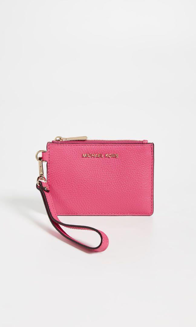 a2eb7f975148 Michael Kors Rose Pink Wristlet, Women's Fashion, Bags & Wallets ...