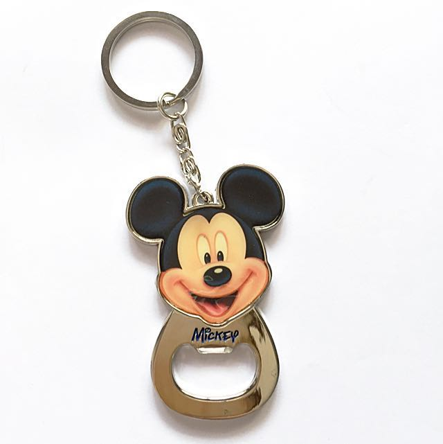 Mickey Mouse Bottle Opener Keychain  ceb4b7e29494