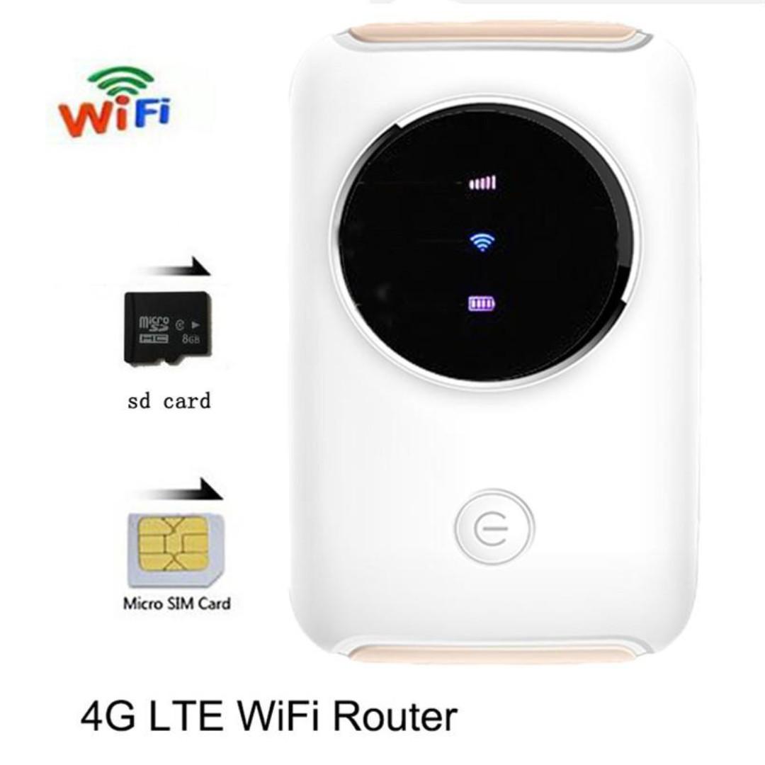 Mifi 4G LTE Mobile Broadband Car Modem for 4G WIFI Router Mifi 4G LTE  Unlock Wireless Broadband Car Wifi Modem