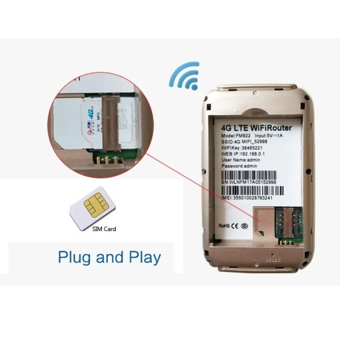 Mifi 4G LTE Mobile Broadband Car Modem for 4G WIFI Router