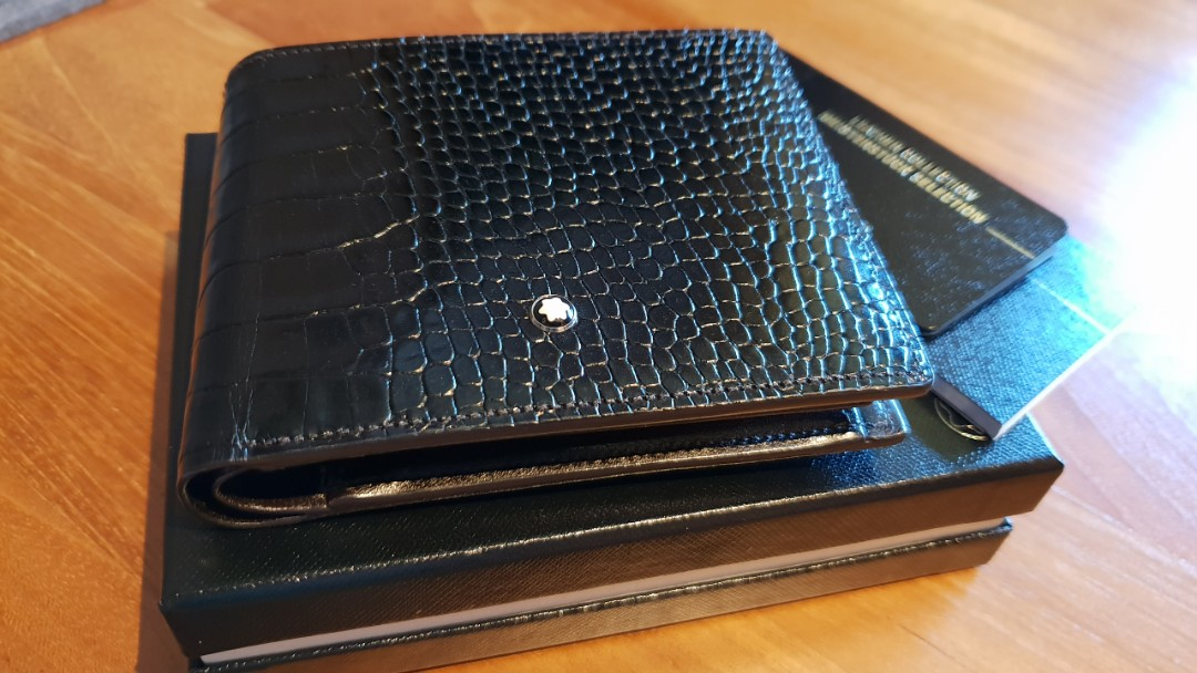 8cad475d5851d Mont Blanc men s leather wallet