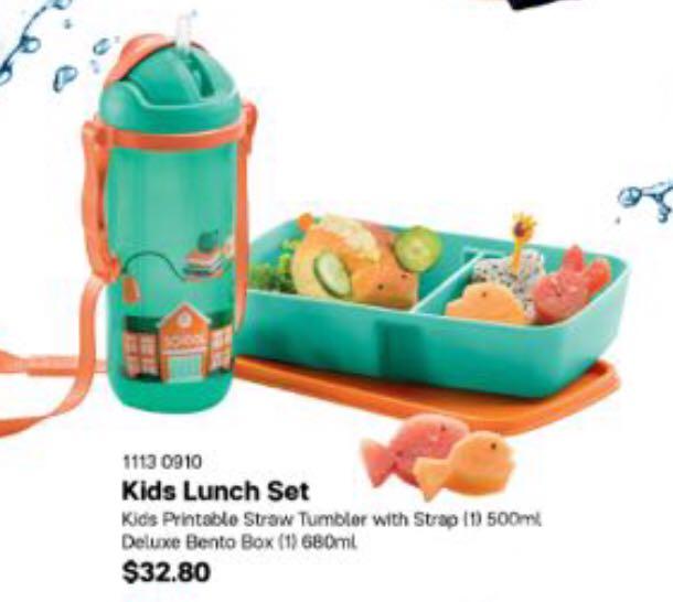 Tupperware Kids Lunch Set, Babies & Kids, Nursing & Feeding on Carousell