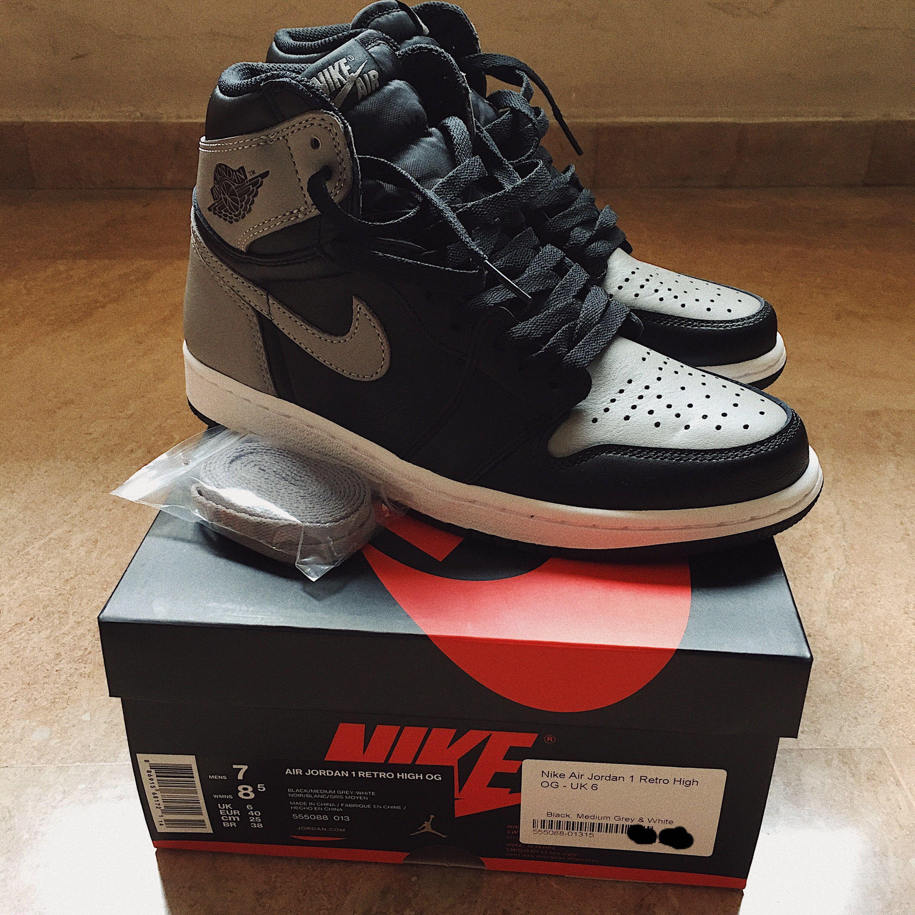 sports shoes 81e57 4519a Nike Air Jordan 1 Retro High OG, Men's Fashion, Footwear, Sneakers ...