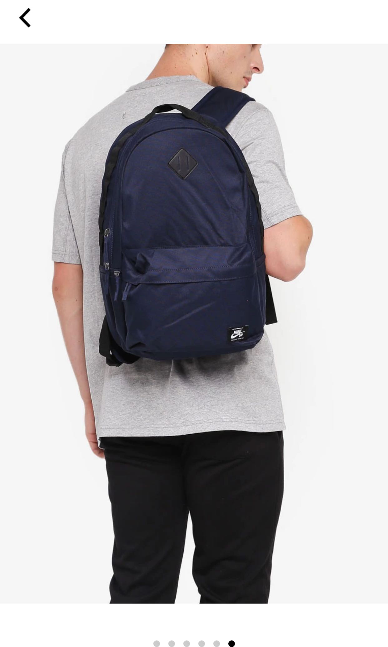 brand new 0b8b5 ca86a Nike Sb Icon Backpack (Full Black), Men s Fashion, Bags   Wallets, Backpacks  on Carousell