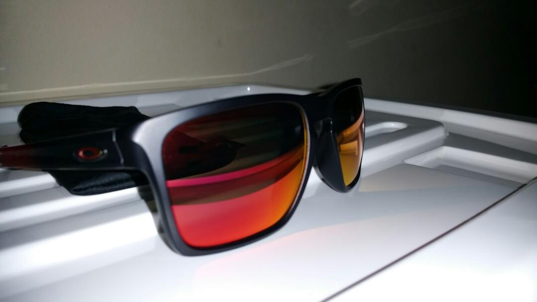 Oakley Original Sliver Prizm Ruby (Ruby Fade Frame)