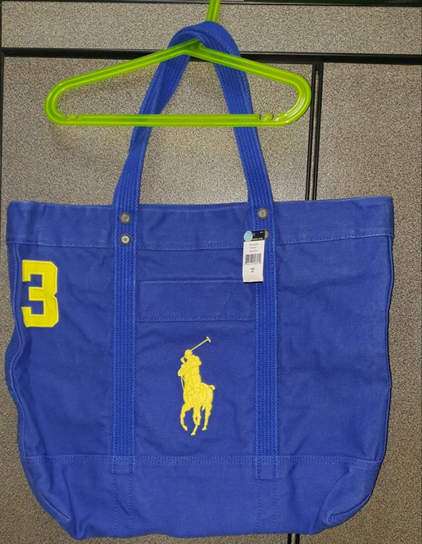 3e362a4e2ab9 Polo Ralph Lauren Tote Bag, Women's Fashion, Bags & Wallets ...