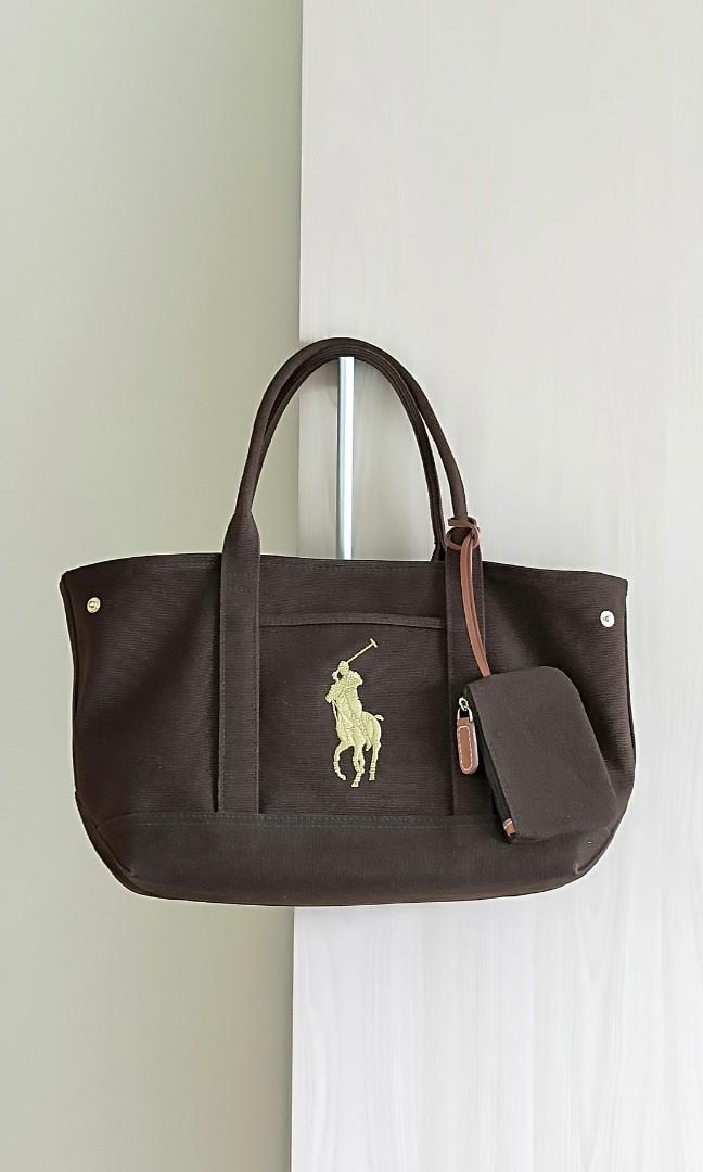 ee83681ac0b7 Polo Ralph Lauren tote bag, Women's Fashion, Bags & Wallets ...