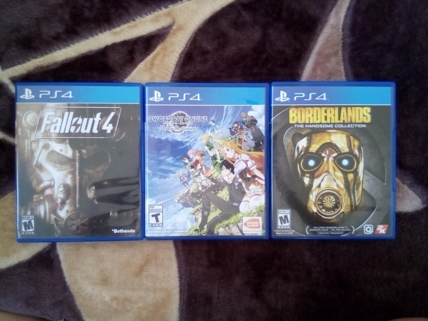 PS4 GAMES BUNDLE FOR SALE! on Carousell