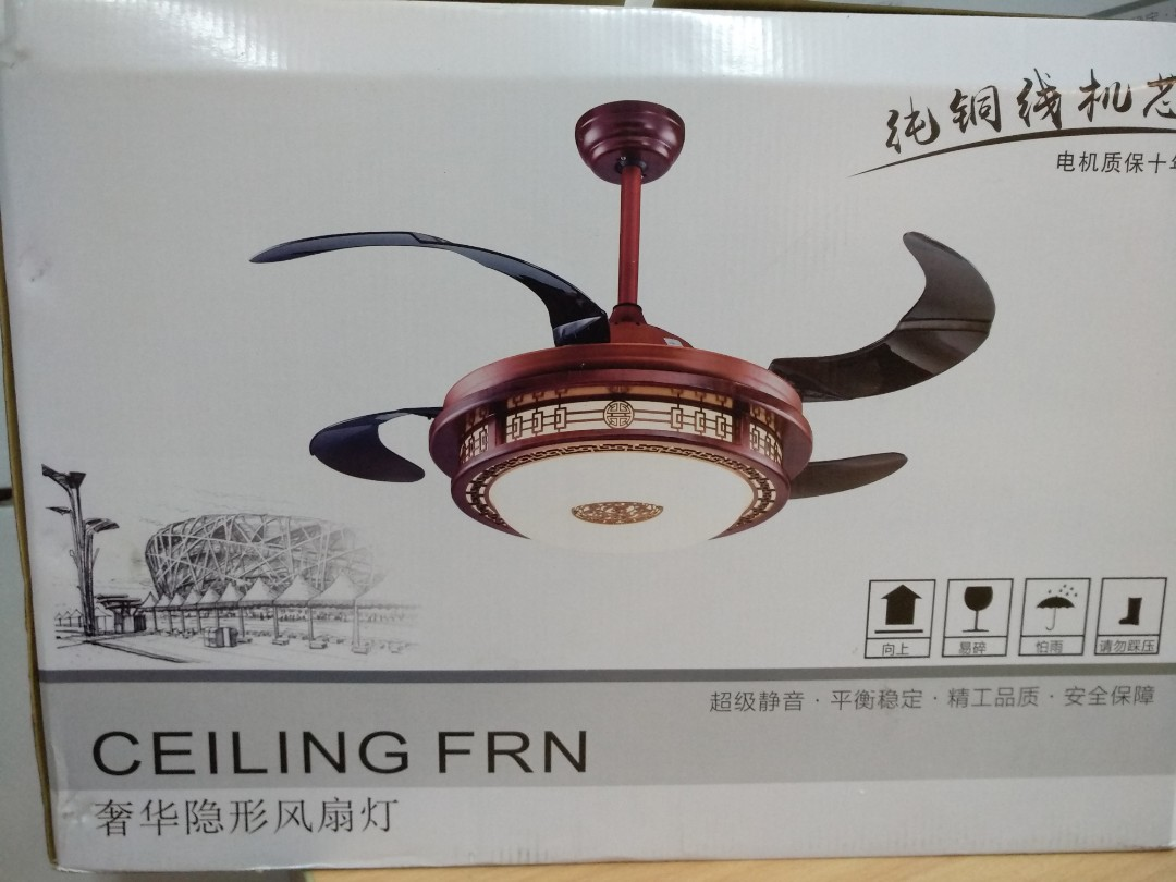 Retractable Ceiling Fan, Electronics, Others on Carousell
