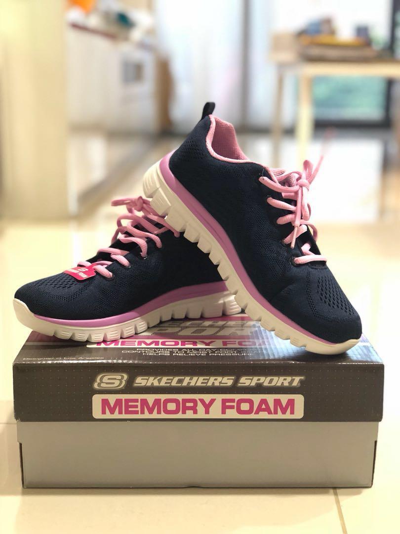 ee5d0f06b72fb Skechers Sport with Memory Foam, Women's Fashion, Shoes, Sneakers on ...