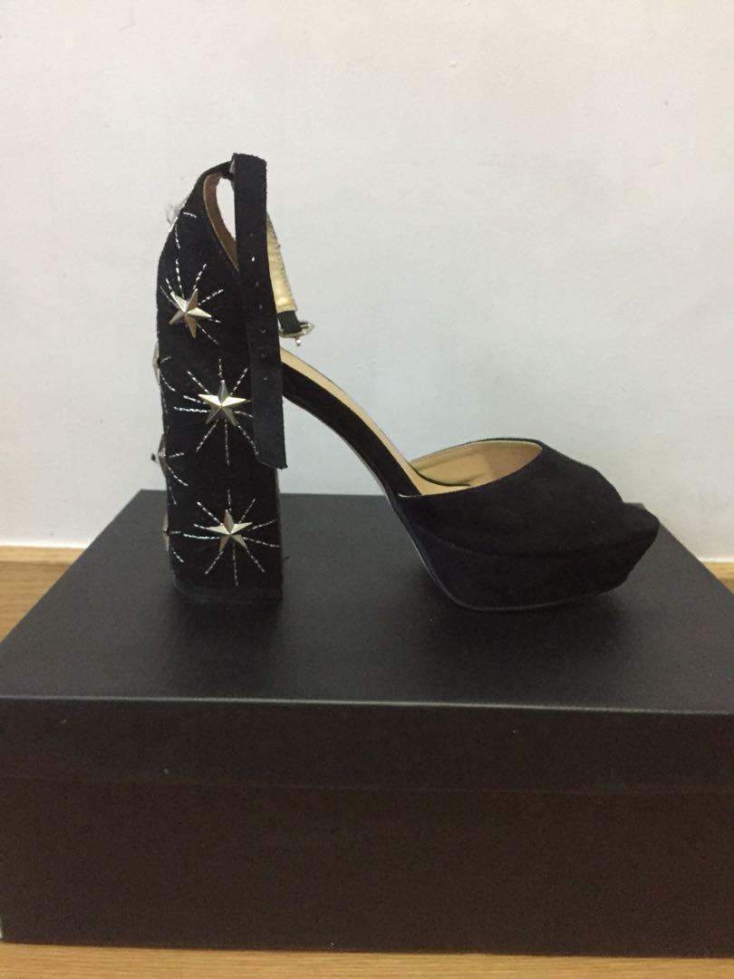 8bcd4a129 Star Studded Embellished Heels