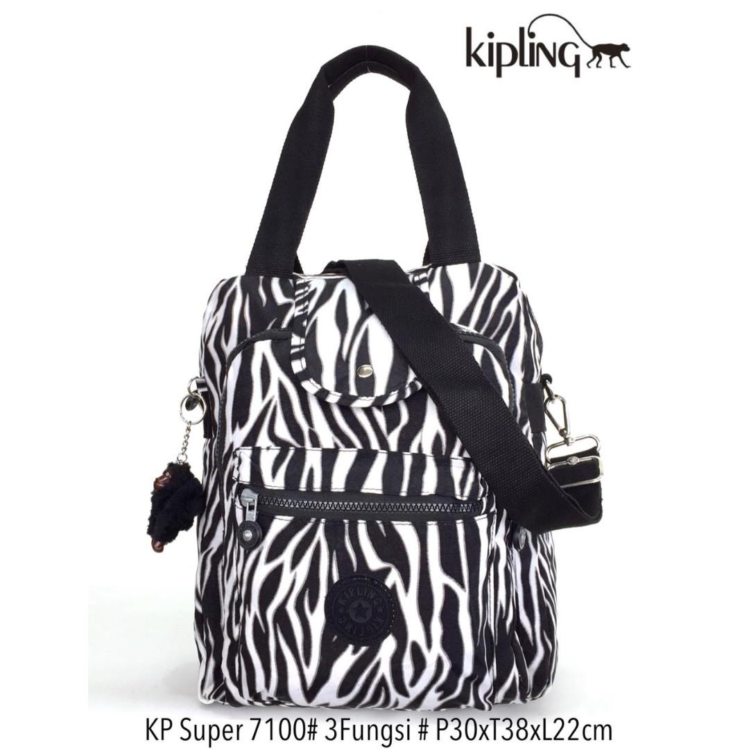 Tas Ransel Kipling Handbag Selempang Multifungsi 3 in 1 7100 - 15 ... ea078462e2