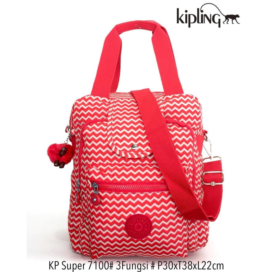 Tas Ransel Kipling Handbag Selempang Multifungsi 3 in 1 7100 - 16 ... 61462eb553