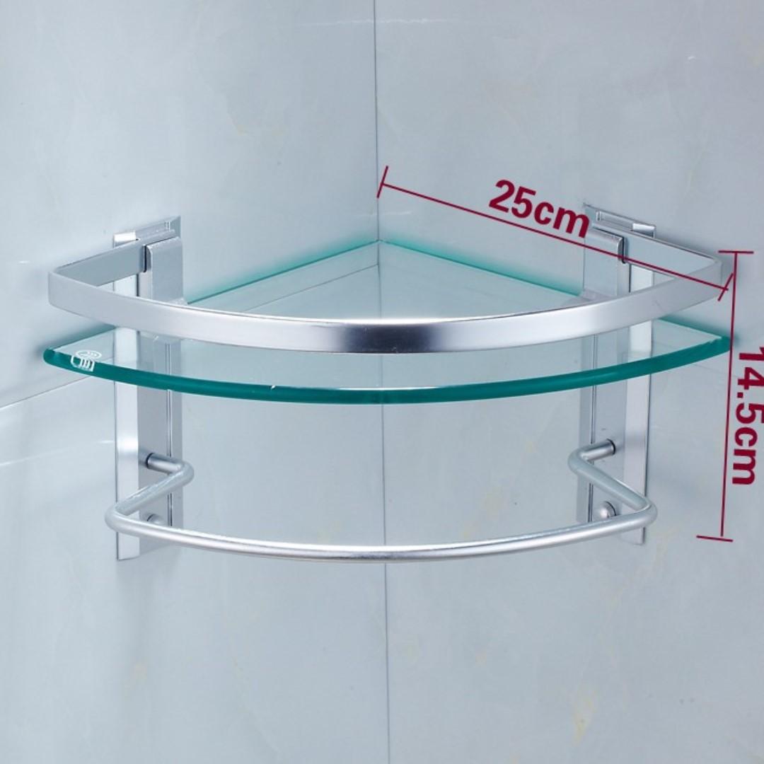 Toilet Corner Shelf / Bathroom Corner Rack / Corner Shelf, Furniture ...