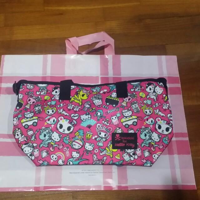 ad6bdbc54 Tokidoki x Hello Kitty Kawaii Handbag, Women's Fashion, Bags ...