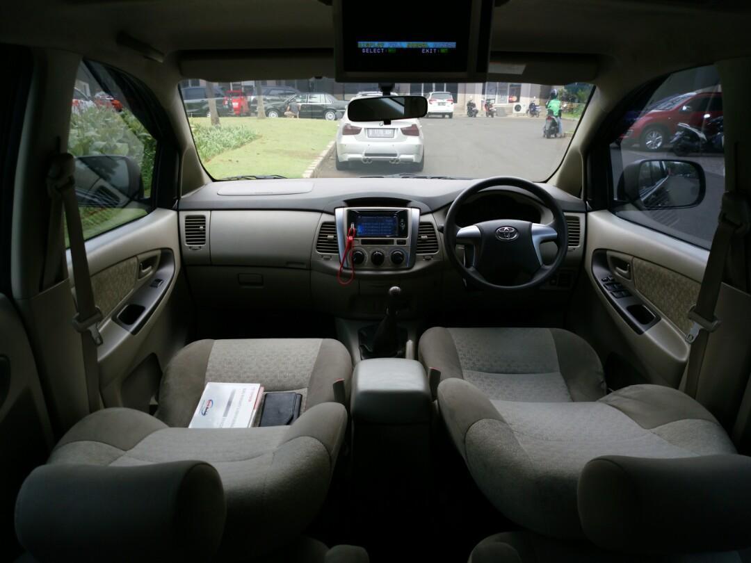 Toyota Grand Innova 2.0G 2013MT Tangan Pertama Km low Tdp 20jt siap Di Gas