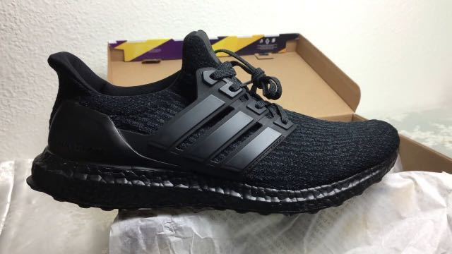 affaf784c Ultraboost 3.0 Triple Black UK8 EU 42