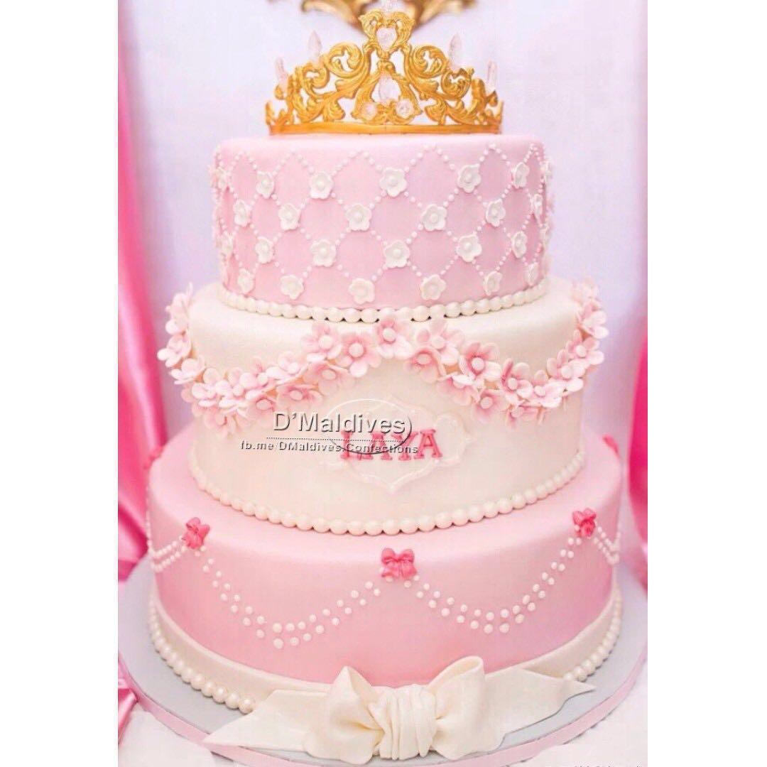 👰🤵Wedding/Anniversary/Bachelor Fondant Cake 🎂, Food & Drinks ...