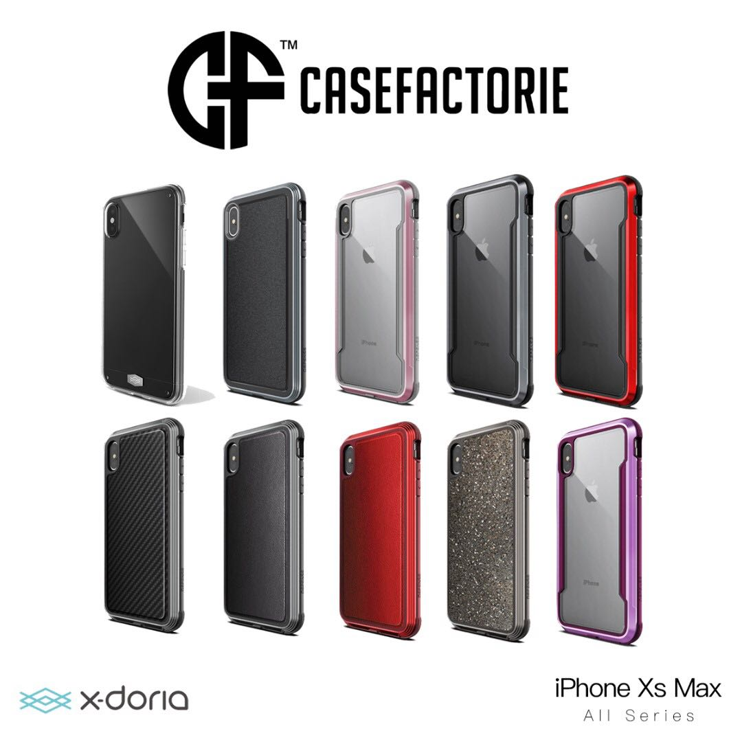 reputable site c78fb d6cf6 X-doria Case iPhone Xs Max Defense Shield Lux Ultra Clear