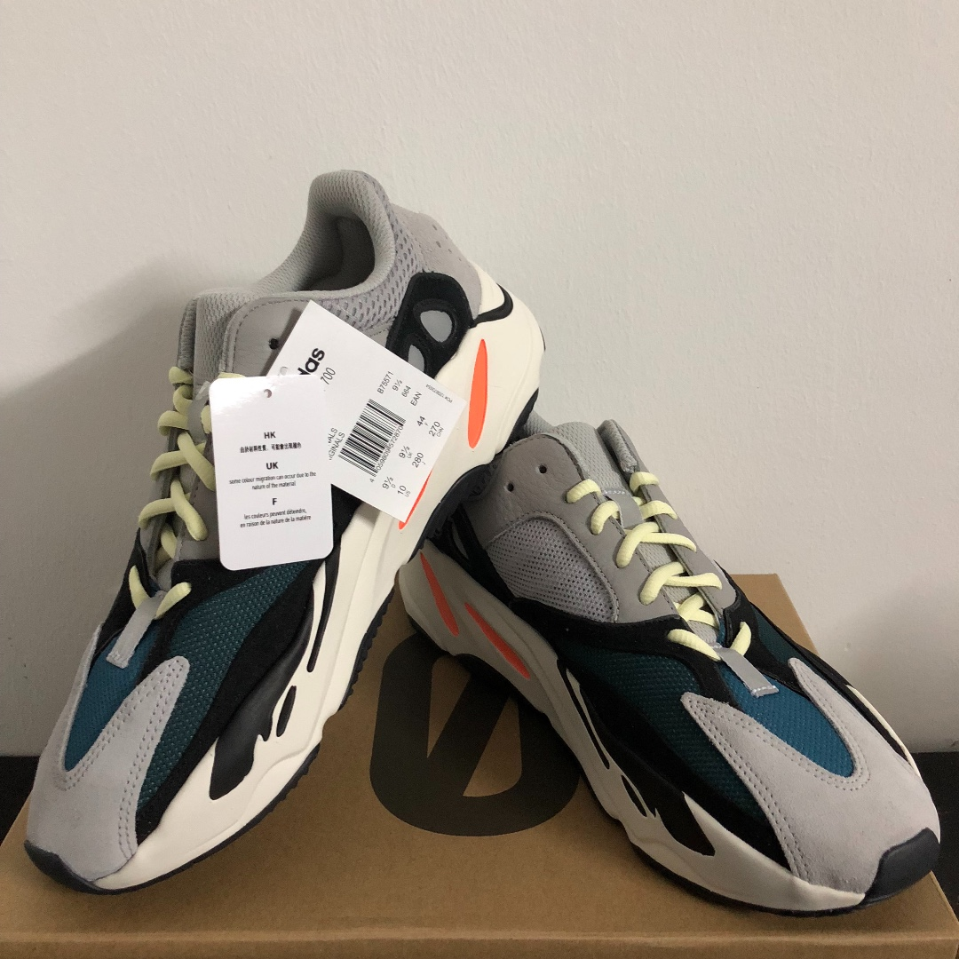 815f7de1f48 Yeezy 700 (US 10) Wave Runner Solid Grey