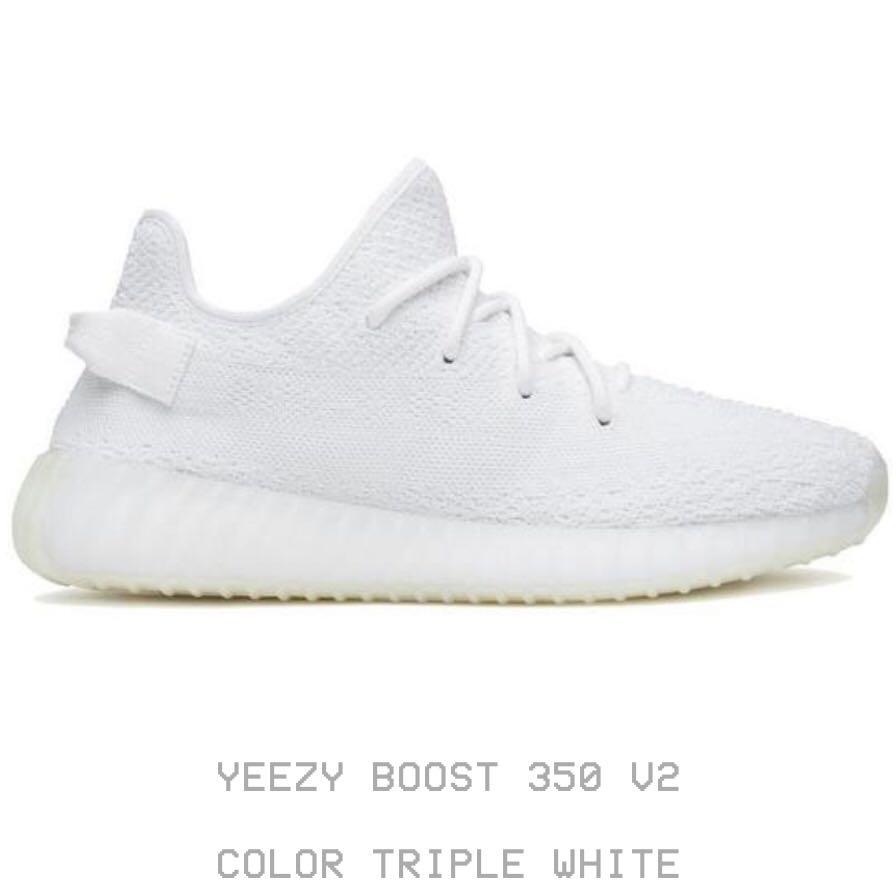 9199d3e26ca Yeezy Boost 350 V2 Cream White US10.5