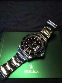 ROLEX SUB 16610T (RARE)